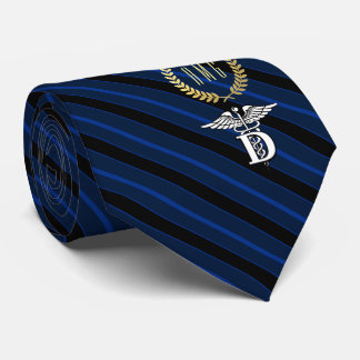 Dentistry Professional Symbol Blue Tie