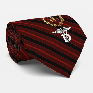 Dentistry Professional Symbol Red Tie
