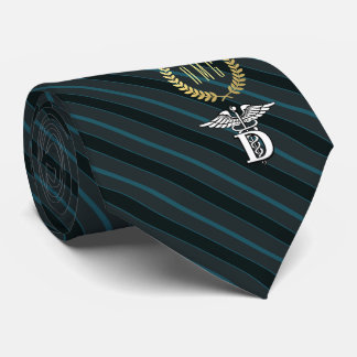 Dentistry Professional Symbol Slate Tie