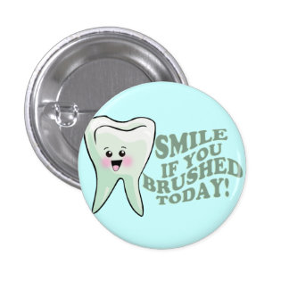 Dentists and Dental Hygienists 3 Cm Round Badge