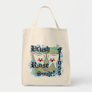 Dentists Dental Professionals Grocery Tote Bag