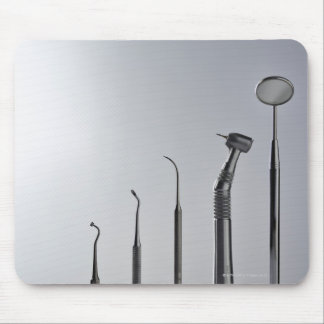 Dentist's instruments mouse pad