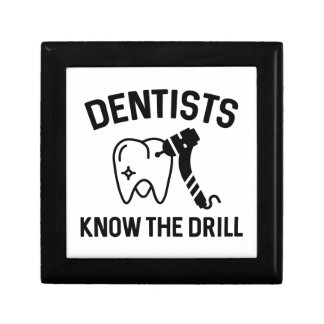 Dentists Know The Drill Gift Box