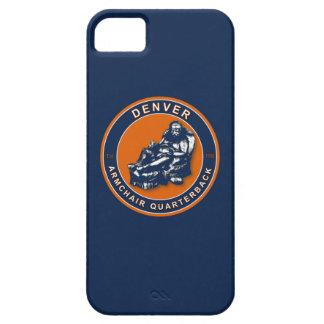 Denver Armchair Quarterback iPhone 5 Case
