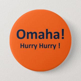 Denver Broncos Peyton Manning Omaha Button