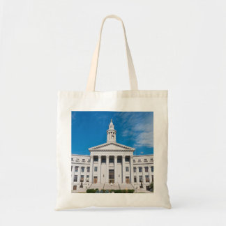 Denver City and County Building Entrance Tote Bag