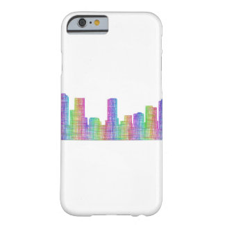 Denver city skyline barely there iPhone 6 case