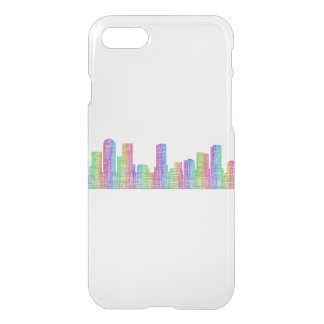 Denver city skyline iPhone 7 case