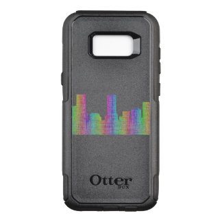 Denver city skyline OtterBox commuter samsung galaxy s8+ case