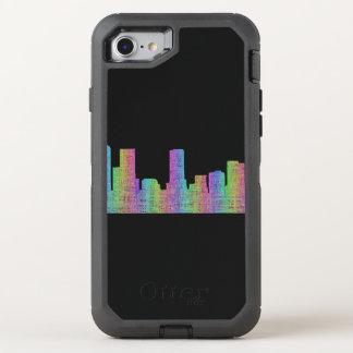 Denver city skyline OtterBox defender iPhone 8/7 case