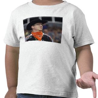 DENVER, CO - JULY 3: A Denver Outlaws fan didn't Tee Shirt