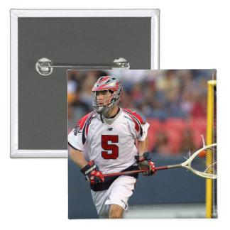 DENVER, CO - JULY 3: Goalie Jordan Burke #5 Pin