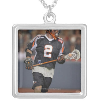 DENVER, CO - JUNE 25:  Brendan Mundorf #2 2 Silver Plated Necklace
