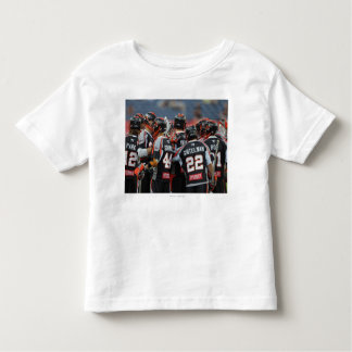 DENVER, CO - JUNE 25:  The Denver Outlaws huddle Toddler T-Shirt