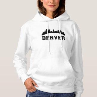 Denver CO Skyline Hoodie