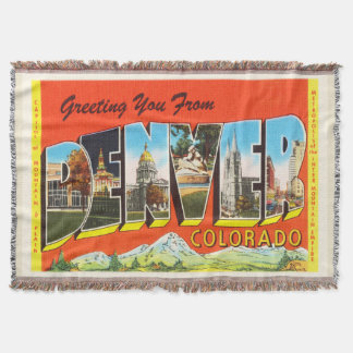 Denver Colorado CO Old Vintage Travel Souvenir