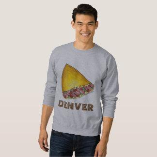 Denver Colorado Egg Omelet Omelette Sweatshirt