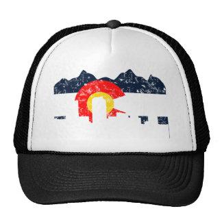 Denver Colorado Flag Hats