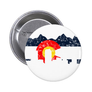 Denver Colorado Flag Pins