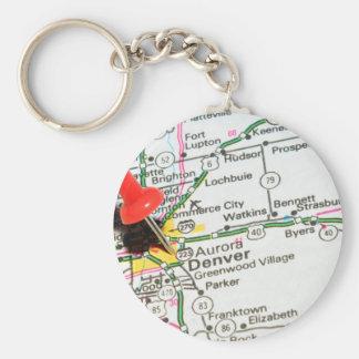 Denver, Colorado Key Ring