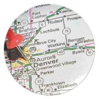 Denver, Colorado Plate