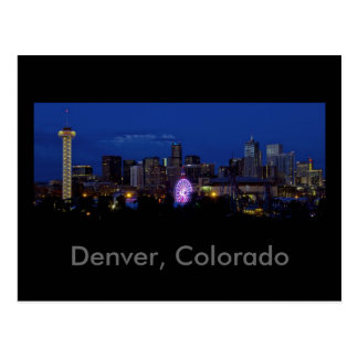 Denver, Colorado Postcard