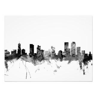 Denver Colorado Skyline Art Photo