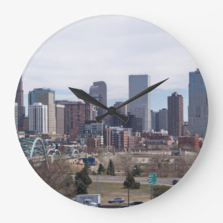 Denver, Colorado Skyline Clock