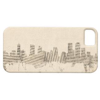 Denver Colorado Skyline Sheet Music Cityscape Case For The iPhone 5