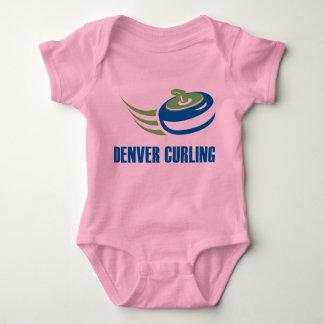 Denver Curling Baby Wear Baby Bodysuit