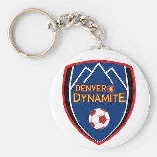Denver Dynamite Logo Keychain