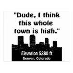 Denver High Town Post Cards