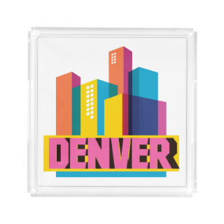 Denver In Design Acrylic Tray