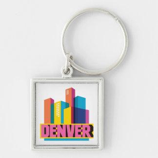Denver In Design Key Ring