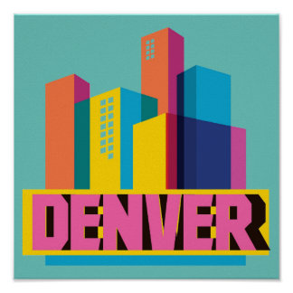Denver In Design Poster