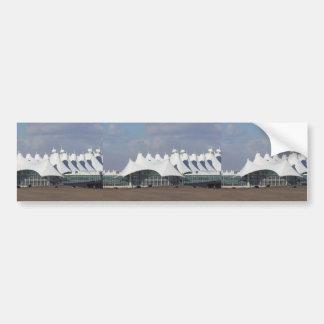 Denver International Airport Main Terminal Buildin Bumper Sticker