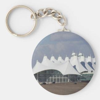 Denver International Airport Main Terminal Buildin Key Chains