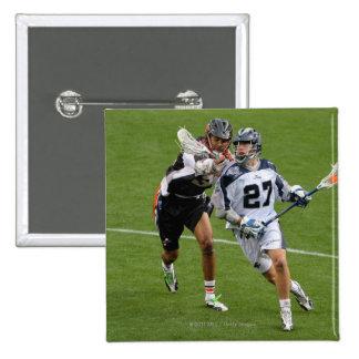 DENVER - MAY 30:  Kevin Buchanan #27 15 Cm Square Badge