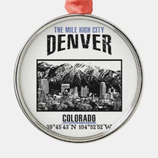 Denver Metal Ornament
