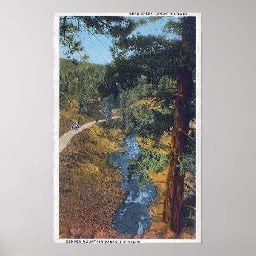 Denver Mountain Park, CO - Bear Creek Canyon Print