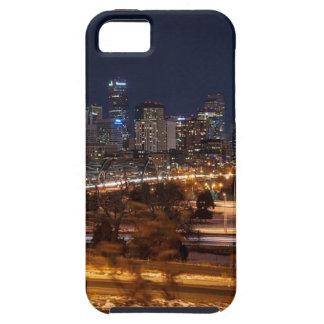 Denver Night Skyline Tough iPhone 5 Case
