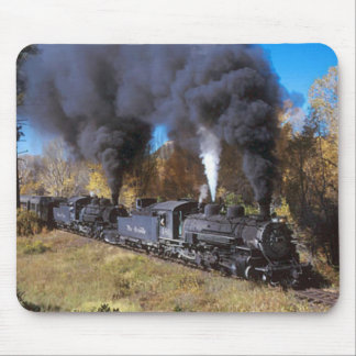 Denver & Rio Grande steam railroad mousemat
