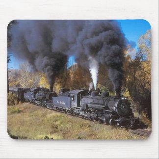 Denver & Rio Grande steam railroad mousemat
