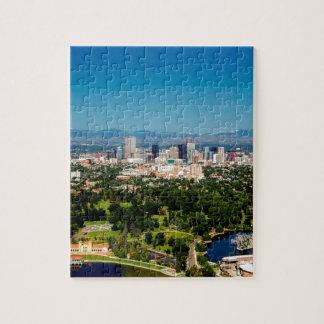 Denver Skyline Jigsaw Puzzle