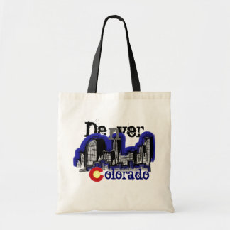 Denver Skyline reusable bag