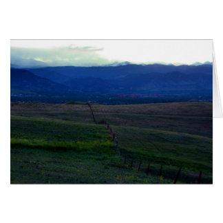 Denver Sunset 2 Card