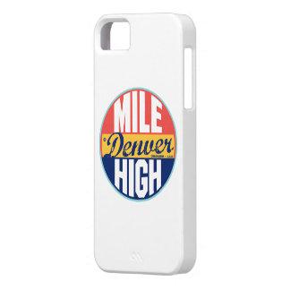 Denver Vintage Label Case For The iPhone 5