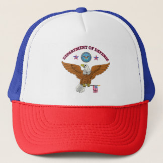 Department of Defense Eagle Shield Trucker Hat