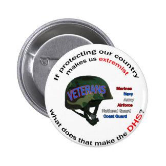 Department of Homland Senility 6 Cm Round Badge