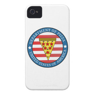 Department of Pizza iPhone 4 Covers
